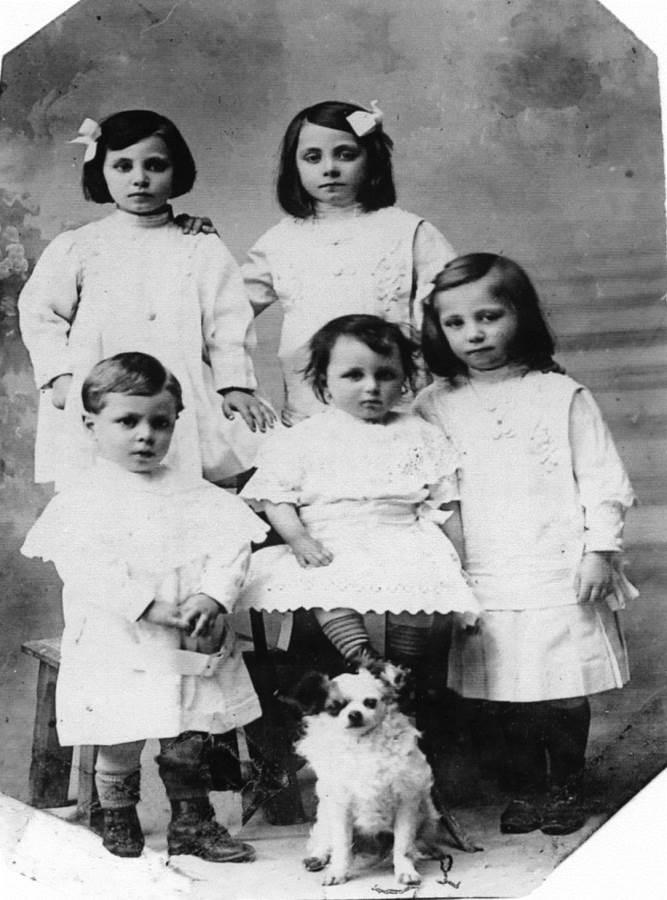Maria Teresa Merli  bambina